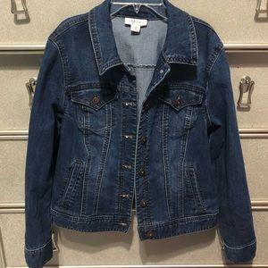 Style & Co Blue Jean Jacket